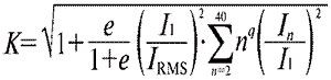 Формула коэффициента запаса мощности трансформатора